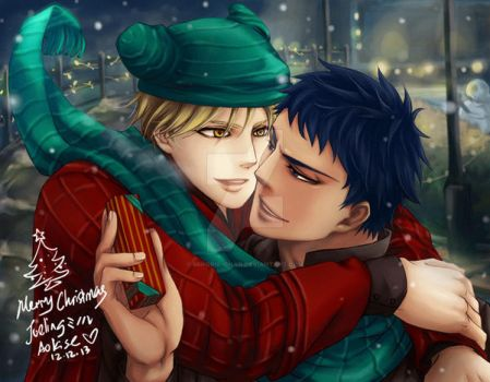 Aokise Merry Christmas by Minoru--chan