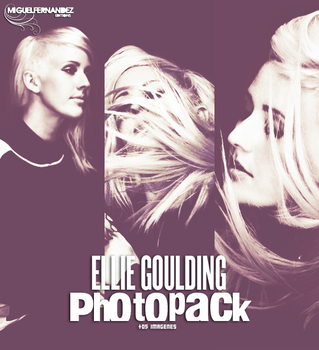 Photopack #02 Ellie Goulding by MFEditions