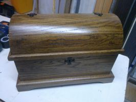 Wood Chest by TiagoRafael