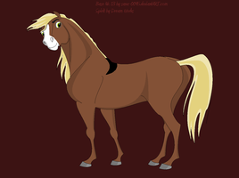 My New Horse, SPEAR by banditandshastagal