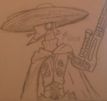 Legendary Sniper Cowboy, Mighty No. 8 by BenSoulstone