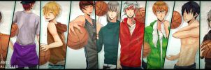 OC BASKETBALL CLUB by toriumiaoru