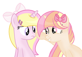 |We're Both Wearing Bows| by Sunsetlicious
