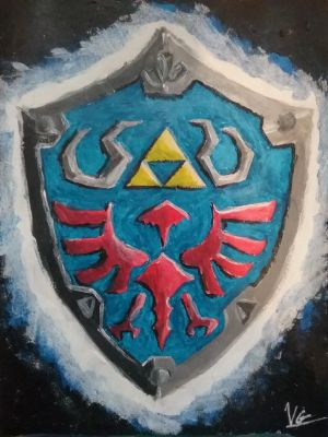 Hylian Shield by TheEpicWingedWolf