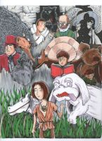 The Neverending Story by johnnyism