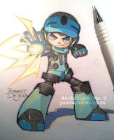 Fanart Beck Mighty No. 9 by Banzchan