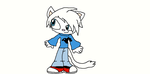 Acel the Cat by TjTheHedgiePlz