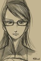Bayonetta -Sketch- by Fangheist