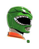 Green Ranger by WizardOfAuz