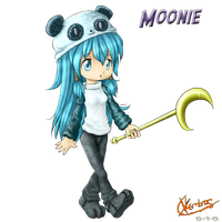 Moonie by Xlembros
