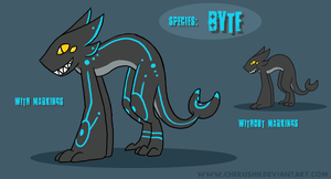 Byte Ref Sheet by ColonelCheru
