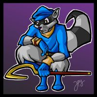 Sly Cooper by WhyDesignStudios