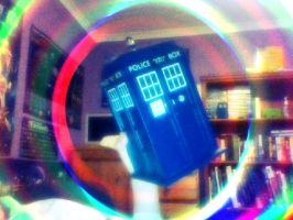 Doctor Who Title Sequence in my Room XD by BudCharles