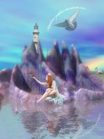 Freedom at Rainbow Rock by Sapphires-Graphics