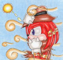 Sonic: Knuckles by DragonQuestHero