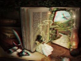 Book of Secrets 3-D conversion by MVRamsey