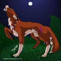 For Bri- Taran's Howl by Mongrelistic