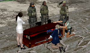 Pose-able Casket by bstylez