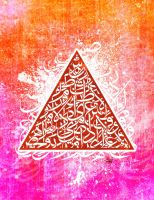 Calligraffiti: Calligraphic Geometry - Triangle by Teakster