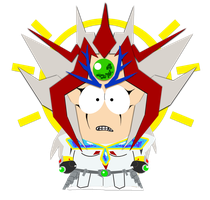South Park style Aporia by slifertheskydragon