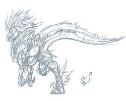 Arc - Utahraptor by BLACK-HEART-SPIRAL