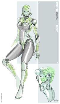 Girlbot by greyhole