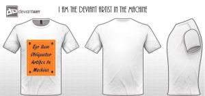I am the deviant artist in the machine by Abigtreehugger
