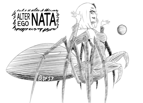 What if NATA was a spider girl by FlyingCarParts