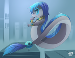 Parsonsda Light Dragon Commision~ By phation by Parsonsda