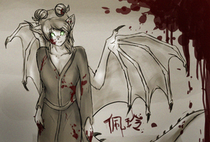 Pei Ling by dragonicwolf