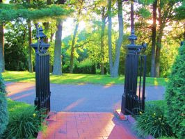 The Garden: Gates by en-visioned