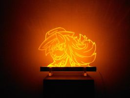 MLP Acrylight - AppleJack by VasGoTec