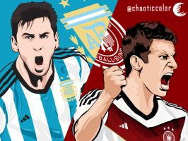 ARG vs GER by chaotic-color