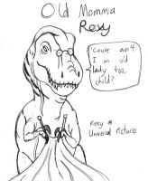 Old Momma Rexy by DaBrandonSphere