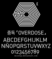 Exo Overdose Font by Milevip