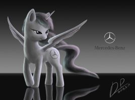 Mercedes-Benz pony by dipingxiangtr