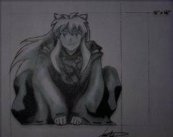 inuyasha fan art by twyliteskyz