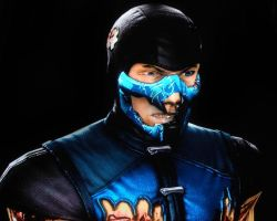 MK9 First Sub Zero Unmasked by DeathsFugitive