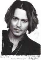 Actors, Johnny Depp, Vampires by AnneKeyVenier