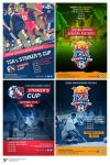 TSA Striker's Cup poster and Logo by grazrootz