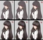 Paso a paso - Hair Tutorial by Ktovhinao
