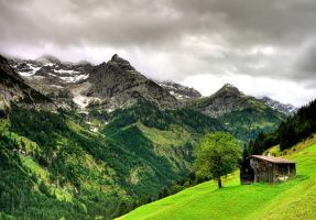 Austria Alps Landscapes by mutrus