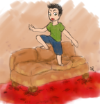 Lava couch by Alisha-town