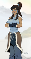 Korra by Flick-the-Thief