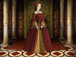 The Tudors: Young Elizabeth by moonprincess22