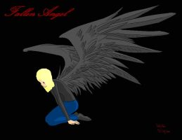 .:Fallen Angel:. by Magikwolf87