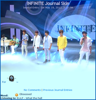 INFINITE Journal Skin by SMoran