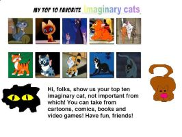 My Top 10 Favorite Animated Cats I by rnj-nj