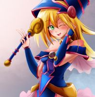 Dark magician girl by Ocamint