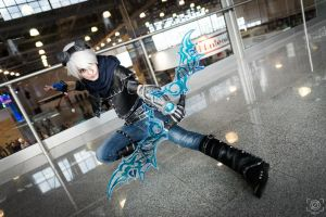 Frosted Ezreal Comic Con Russia 2015 by RenShuher